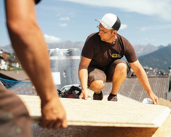 Holzbau Vorarbeiter Partieführer Zimmerei